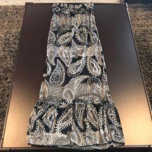 Eyelash Couture strapless sundress
